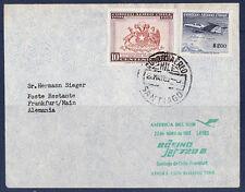 vol  /13/ lufthansa   Santiago   Frankfurt   1961