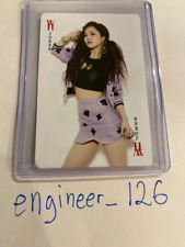 """Dal Shabet Woohee """"Joker"""" Official Photo-cards - Ships Fast Directly From USA"""