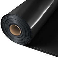 Baufolie 500 mµ Estrichfolie Abdeckfolie PE Folie schwarz 0,500 mm 2x50 m 100 m²