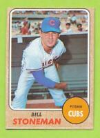 1968 Topps - Bill Stoneman (#179)  Chicago Cubs