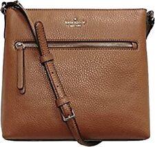 Kate Spade Women's Jackson Top Zip Crossbody Pebbled Leather Handbag - New!