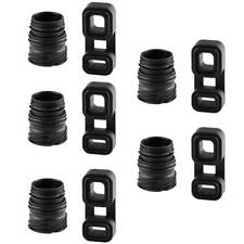 10 Pcs/Set Auto Transmission Sealing Sleeve + Plug Adaptor For BMW 24347588724