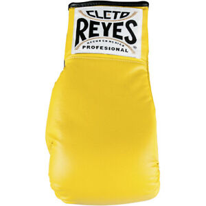 Cleto Reyes Standard Collectible Autograph Boxing Glove - Yellow