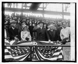 President Coolidge throwing out 1st ball,4/22/25,Grace Goodhue,MLB,Sports 8312