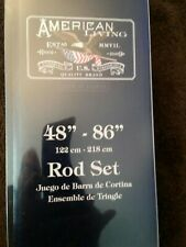 "American Living Rod set 48"" - 86"" Brand New, Free Shipping"