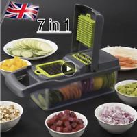 Mandoline Slicer 7 in 1 Vegetable Slicer Fruit Cutter Potato Peeler Grater Set