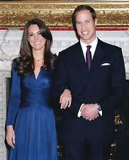 Prince William Duke Of Cambridge & Kate Middleton 8x10 Glossy Photo (D)
