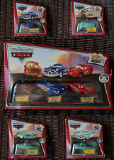Disney Pixar Cars Storytellers Flo, Brand New Mater, Doc Hudson, Ramone, Rusty