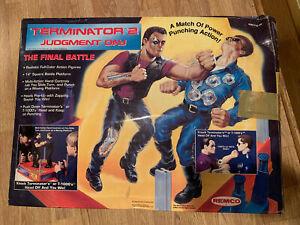 Terminator 2 Judgement Day FINAL BATTLE Rock'em Sock'em Robots Complete In Box
