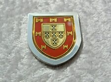 THE COATS OF ARMS OF THE GREAT MONARCHS OF HISTORY INGOT JOHN IV FRANKLIN MINT