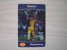 TELSTRA PHONEAWAY $50 COMMONWEALTH GAMES 1998  CRICKET  122 RARE RARE