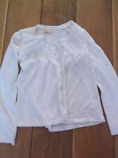 Girl's Cherokee white cardigan 7-8 years