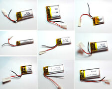 LiPo Akku 3,7V mit BMS PCB Batterie Handy MP3 Tablet Uhr LiIon Lithium Polymer
