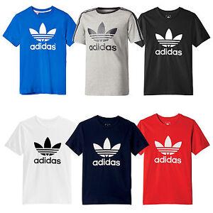 adidas Originals Trefoil Logo T-Shirt Kinder-Shirt Tee Kurzarm Fashion