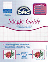 18 Count Magic Guide 14x18 Inches (35x45cm) - Blanc - DC37MG