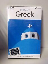 Eurotalk Instant Greek 2 Product Set USB, Talk Now tablet download CR075 FF-13