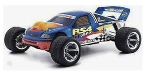 GENUINE HPI 7152 RS4 MT F150 TRUCK BODY CLEAR VINTAGE RARE