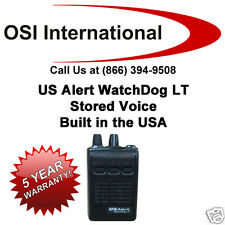 US Alert WatchDog LT Pager - SV, 5yr Warranty VHF UHF - Better than Minitor 6!