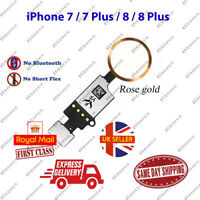 iPhone 7 / 7 Plus / 8 / 8 Plus Home Button Flex Cable Replacement Rose Gold