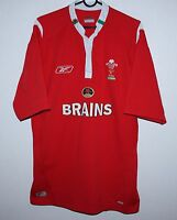 Wales national rugby union team shirt jersey Reebok Size - M