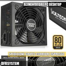 Alimentatore Modulare Vultech GS-800WPRO Real Power Rev. 2.1 800W Retail