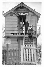 pt3959 - Skellow Railway Signal Box , Yorkshire - photo 6x4