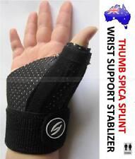 THUMB SPICA SPLINT BRACE STABILIZER STRAP WRIST HAND SPORTS INJURY SUPPORT CTS