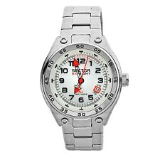 Sector Men's SK-Eight Silver Dial Stainless Steel Japanese Quartz Watch