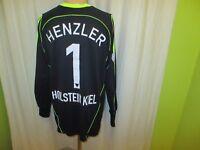 Holstein Kiel Adidas Torwart Matchworn Trikot 2008/09 + Nr.1 Henzler Gr.XL