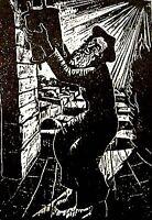 1937 Bezalel STEINHARDT Jewish ART BOOK Woodcuts JUDAICA Israel JERUSALEM Hebrew