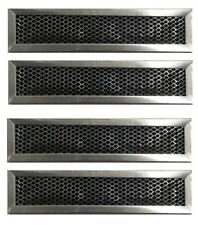 GE General Electric JX81D WB02X10943 Microwave Charcoal Filter Hood - 4 Pack