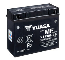Genuine Yuasa YT19BL-BS Motorcycle Battery For BMW Replaces Exide EX12-19