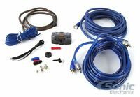 The InstallBay AK8 Complete 8 AWG Gauge Amplifier/Amp Installation Wiring Kit