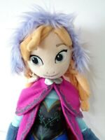 Disney Frozen Princess Anna Soft Plush Toy by The Disney Store 20 inch tall