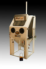 Wet blasting cabinet Aqua vapour sand Grit bead blaster UK made from £6995 + VAT