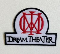 Dream Theater Metal Band Embroidered Sew/Iron on Patch Badge