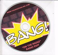 THUNDER On The Radio 2008 UK 1-track promo CD Radio Edit