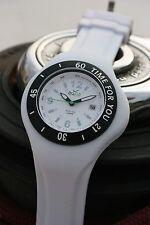 Montre ADNA M White Time for you étanche 100m avec 2 bracelets couleur au choix