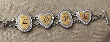 Brighton Love Letters Toggle Closure Bracelet
