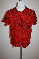 NEW Chicago Blackhawks YOUTH Medium M 10/12 Red Reebok T-Shirt