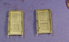 HO/HOn3 BRASS WISEMAN MODEL SERVICES BACK SHOP HBS155 CABOOSE END DOORS