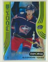 2019-20 Synergy Rookie Green Alexandre Texier /199 Columbus Blue Jackets