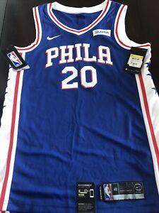 Philadelphia 76ers Markelle Fultz Mens Small (40) Nike Dri-Fit Swingman Jersey