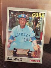 1971 Topps # 541 Bill Heath  ... NM/NM+ ***..  CUBS ... RB-4039