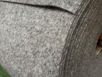 1 Metre of Veltrim smooth lining carpet SILVER VW T5 Campervan