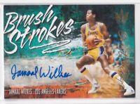 2018-19 Jamaal Wilkes Auto #/149 Panini Court Kings Brush Strokes LA Lakers