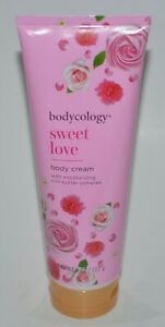 1 NEW BODYCOLOGY SWEET LOVE BODY CREAM MOISTURIZING BUTTER COMPLEX LOTION