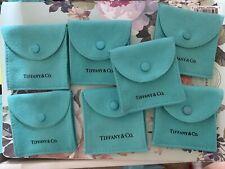 Seven (7)Tiffany & Co. Snap Pouches