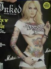 Inked Magazine J/J 2011 #36 Rock & Roll Issue-Damned Things (Scott Ian), Wooster
