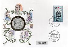 D-161.b DDR-Numisbrief Deutsche Dichter >Goethe<